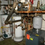 Mechanical Room - Boiler, Hot Water Tank Inspection